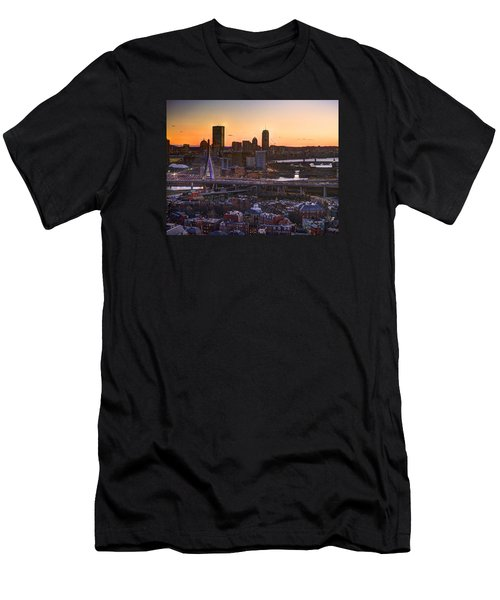 View From The Monument 015 Men's T-Shirt (Athletic Fit)