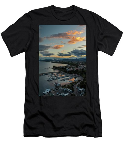 View From The Port Men's T-Shirt (Athletic Fit)