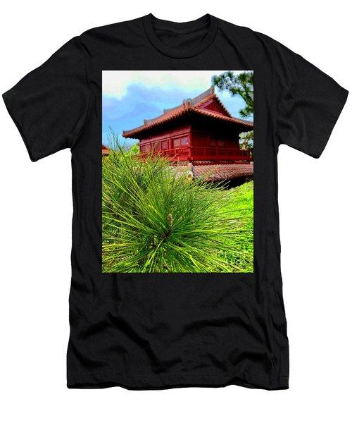 View Of Murasaki Mura, Okinawa. Men's T-Shirt (Athletic Fit)