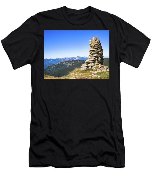 View Of The Apuan Alps Men's T-Shirt (Athletic Fit)