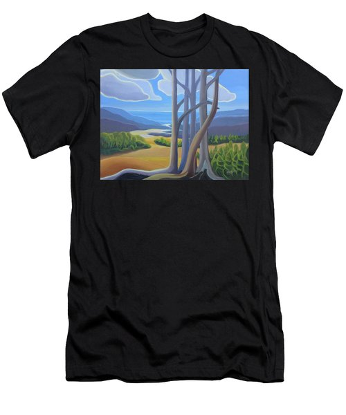 View Of The Lake Men's T-Shirt (Athletic Fit)