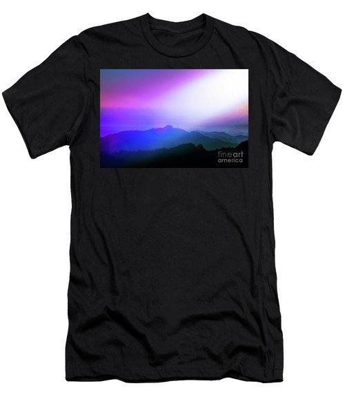 Men's T-Shirt (Slim Fit) featuring the photograph View Point by Tatsuya Atarashi