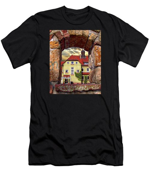 Men's T-Shirt (Athletic Fit) featuring the photograph View To The Past by Anthony Dezenzio
