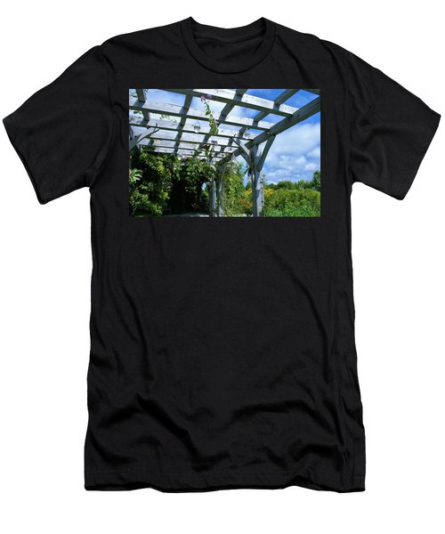 View To The Sky Men's T-Shirt (Slim Fit) by Lois Lepisto