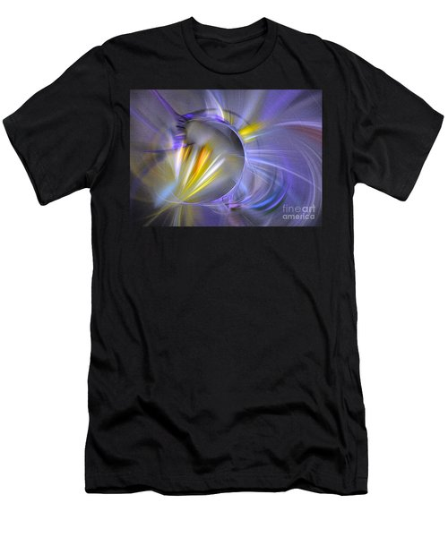 Vigor - Abstract Art Men's T-Shirt (Athletic Fit)