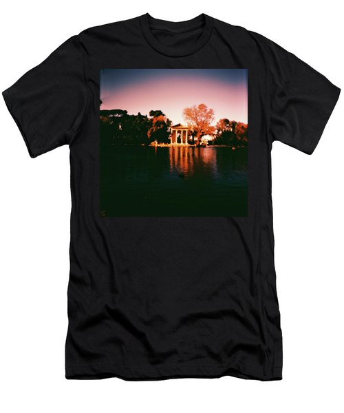 Villa Borghesse Rome Men's T-Shirt (Athletic Fit)