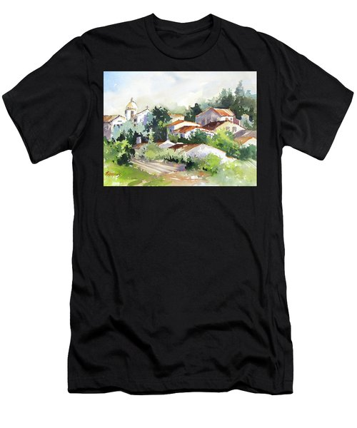 Village Life 5 Men's T-Shirt (Athletic Fit)