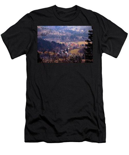 Village Of Lokve In Gorski Kotar  Men's T-Shirt (Athletic Fit)