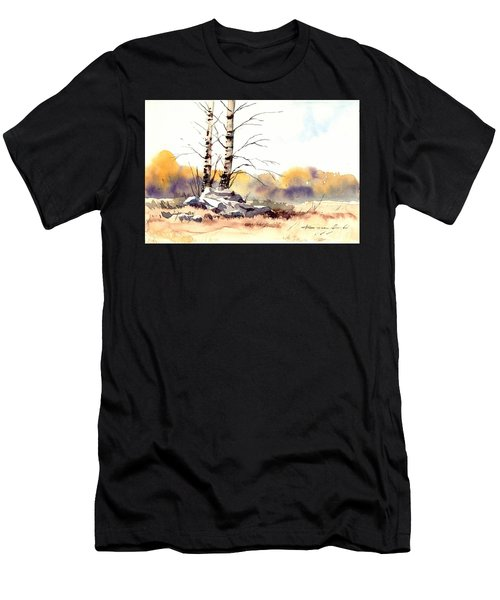 Village Scene V Men's T-Shirt (Athletic Fit)