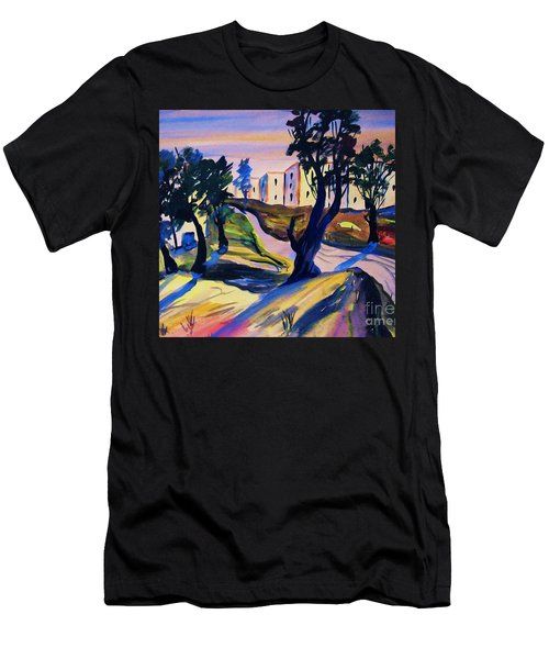Villefranche Men's T-Shirt (Slim Fit) by Roberto Prusso