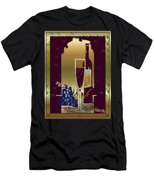 Vin Pour Une Men's T-Shirt (Athletic Fit)