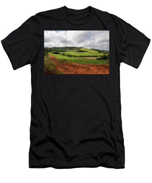Vinales Valley Men's T-Shirt (Athletic Fit)