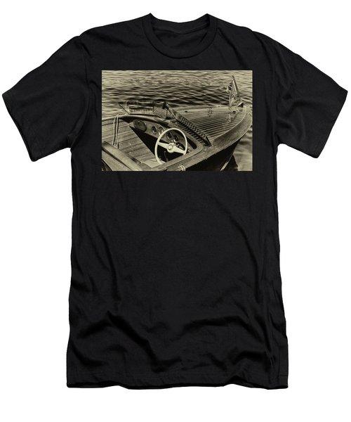 Vintage 1958 Chris Craft Utility Boat Men's T-Shirt (Athletic Fit)