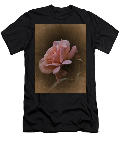 Vintage August Rose Men's T-Shirt (Athletic Fit)