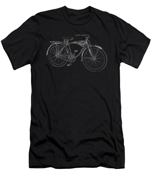 Vintage Bicycle Tee Men's T-Shirt (Slim Fit) by Edward Fielding