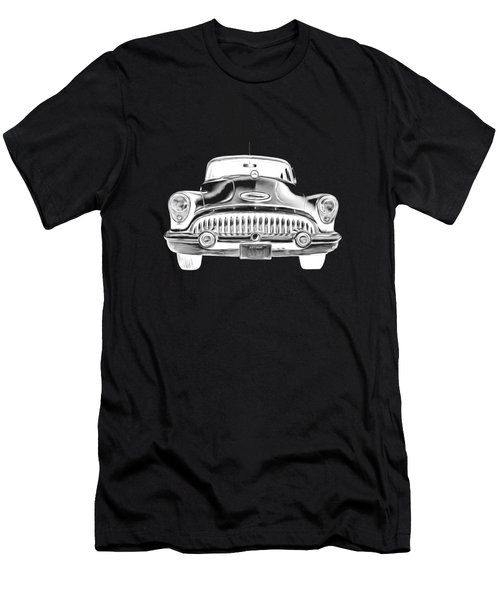 Vintage Buick Car Tee Men's T-Shirt (Athletic Fit)