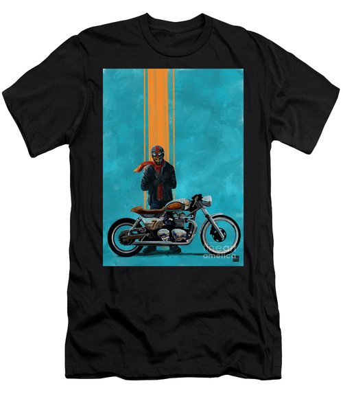 Vintage Cafe Racer  Men's T-Shirt (Athletic Fit)