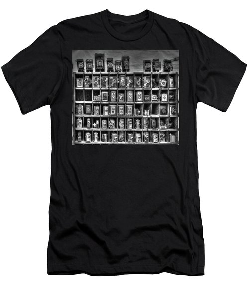 Vintage Camera Matrix Men's T-Shirt (Athletic Fit)
