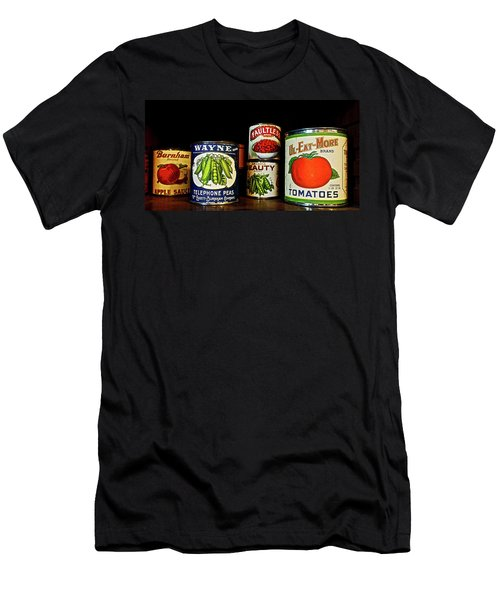 Vintage Canned Vegetables Men's T-Shirt (Athletic Fit)