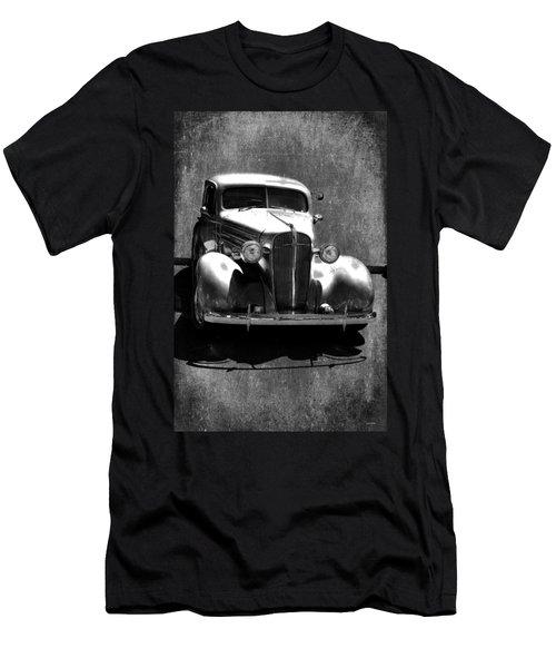 Vintage Car Art 0443 Bw Men's T-Shirt (Athletic Fit)