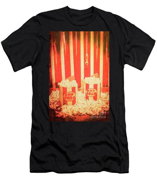 Vintage Classical Cinema Interval Concept Men's T-Shirt (Athletic Fit)
