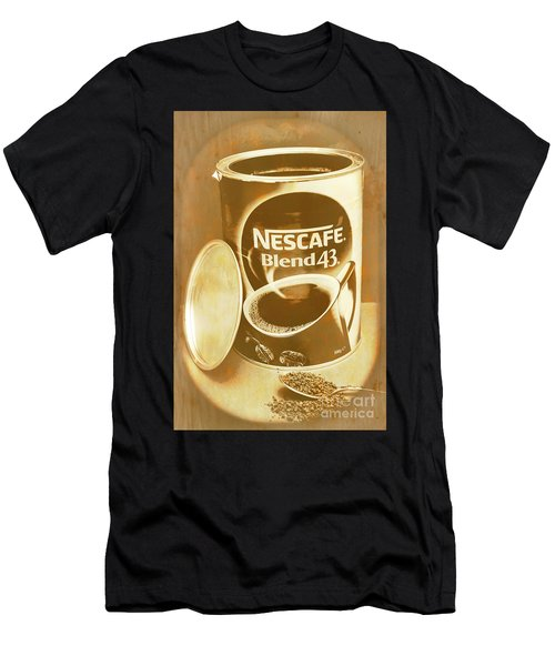 Vintage Coffee Product Adverting Men's T-Shirt (Athletic Fit)