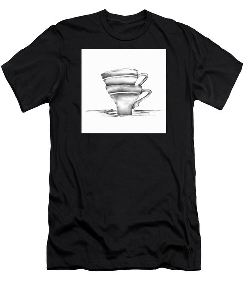 Vintage Cups Men's T-Shirt (Athletic Fit)