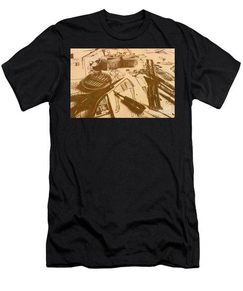 Vintage Fashion Design Men's T-Shirt (Athletic Fit)