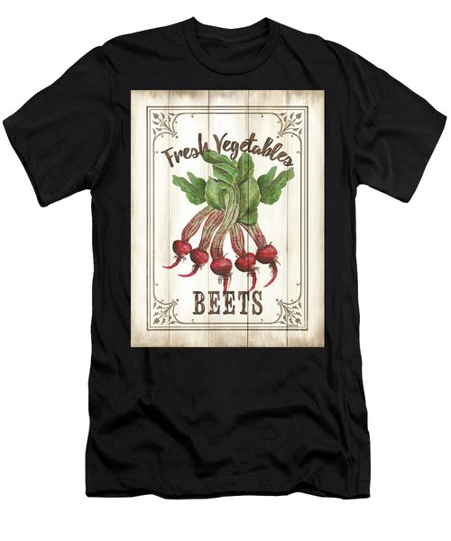 Vintage Fresh Vegetables 1 Men's T-Shirt (Athletic Fit)