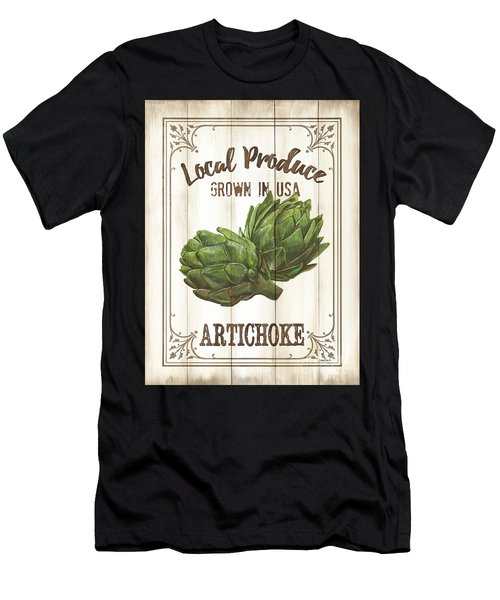 Vintage Fresh Vegetables 2 Men's T-Shirt (Athletic Fit)