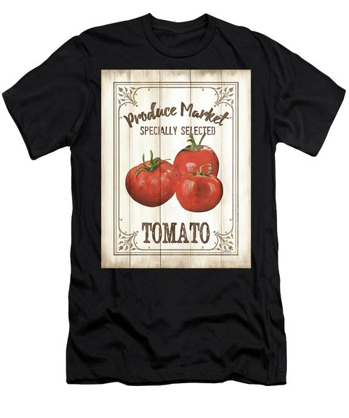 Vintage Fresh Vegetables 4 Men's T-Shirt (Athletic Fit)