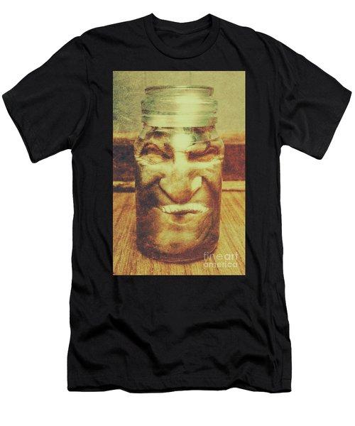 Vintage Halloween Horror Jar Men's T-Shirt (Athletic Fit)