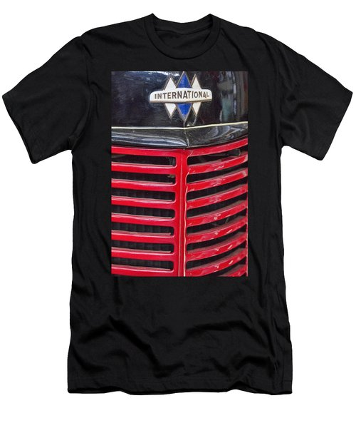 Vintage International Truck Men's T-Shirt (Slim Fit) by Douglas Barnard