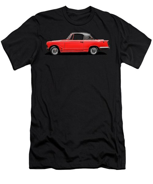 Vintage Italian Automobile Red Tee Men's T-Shirt (Athletic Fit)