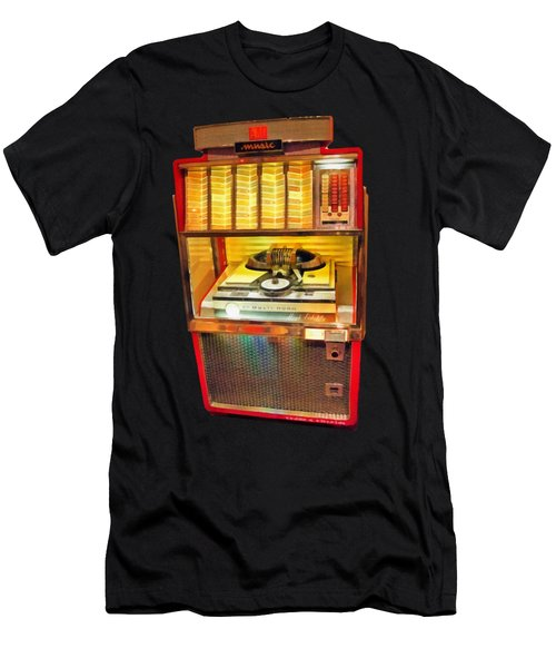 Vintage Jukebox Tee Men's T-Shirt (Athletic Fit)