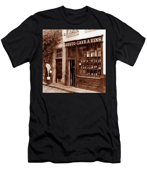 Vintage Paris 3 Men's T-Shirt (Athletic Fit)