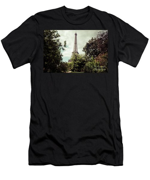 Vintage Paris Landscape Men's T-Shirt (Athletic Fit)