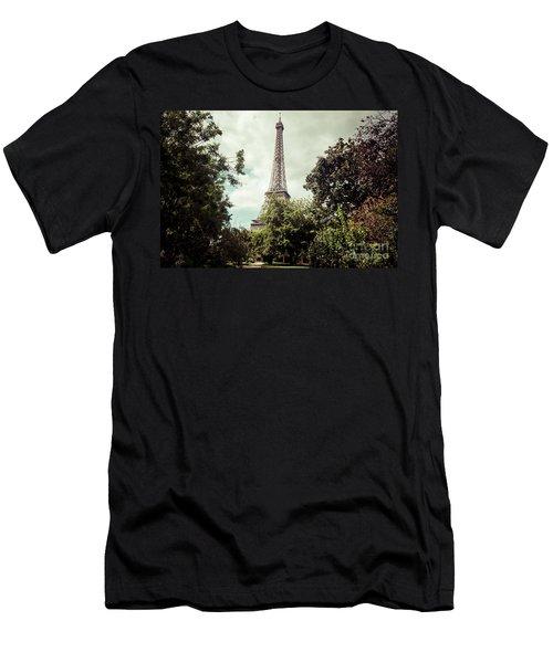 Vintage Paris Landscape Men's T-Shirt (Athletic Fit)