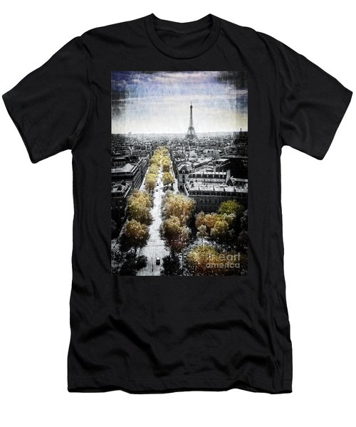 Vintage Paris Men's T-Shirt (Athletic Fit)