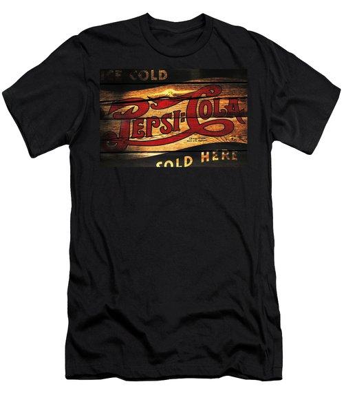 Vintage Pepsi-cola Sign 1a Men's T-Shirt (Athletic Fit)