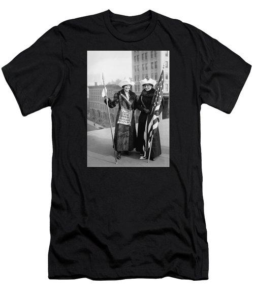 Vintage Photo Suffragettes Men's T-Shirt (Athletic Fit)