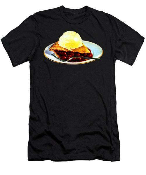 Vintage Pie A La Mode Men's T-Shirt (Athletic Fit)