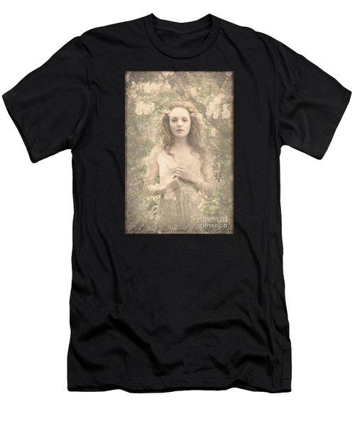Vintage Portrait Men's T-Shirt (Athletic Fit)
