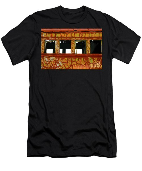 Vintage Railcar Men's T-Shirt (Athletic Fit)