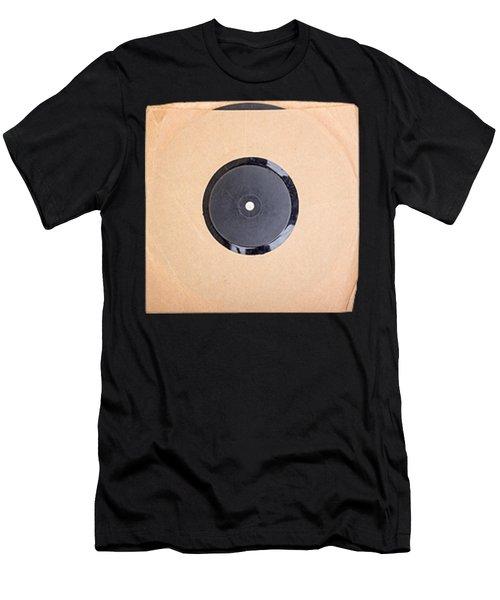 Vintage Record Album Tee Men's T-Shirt (Athletic Fit)