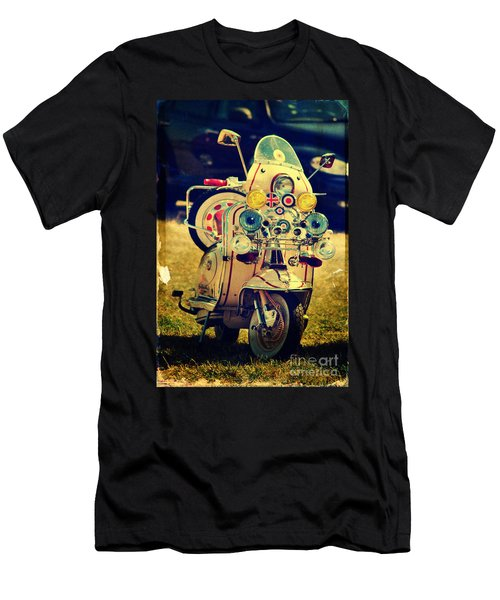 Vintage Scooter Men's T-Shirt (Athletic Fit)