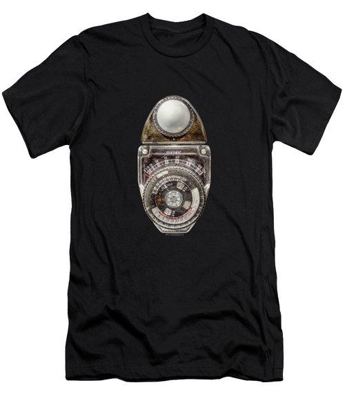 Vintage Sekonic Deluxe Light Meter Men's T-Shirt (Athletic Fit)