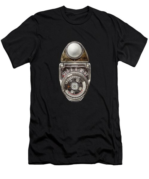 Vintage Sekonic Deluxe Light Meter Men's T-Shirt (Athletic Fit)
