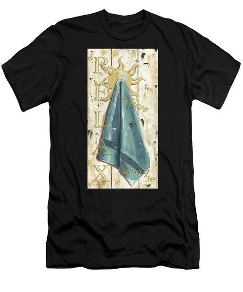 Vintage Sun Beach 2 Men's T-Shirt (Athletic Fit)