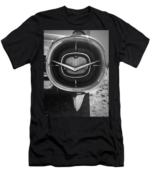 Vintage Tail Fin In Black And White Men's T-Shirt (Slim Fit) by Kelly Hazel